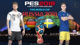 Germania Vs Svezia - Russia World CUP 2018
