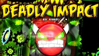 Video Geometry Dash (DEMON) - Deadly Impact - by Xaro & FunnyGame download MP3, 3GP, MP4, WEBM, AVI, FLV Desember 2017