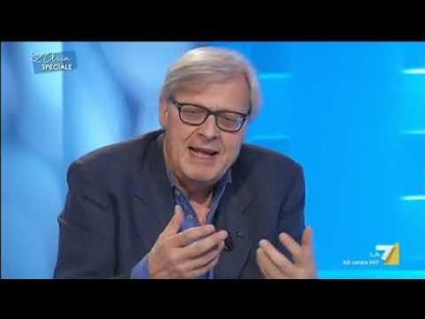 """Vittorio SGARBI Vs TELESE   """"Dalli Tu I Soldi A Mio Figlio, Brutto Str...""""  !"""