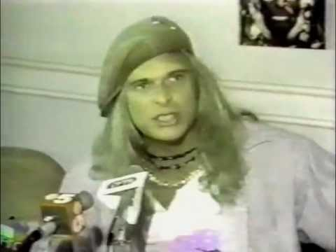 David Lee Roth pissed off at Van Halen (1986)