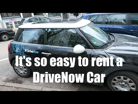 Rent a DriveNow car in Hamburg is soooo easy - NOT REALLY | Vlog #2