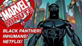 Black Panther! Inhumans! Netflix! - Marvel Minute 2016