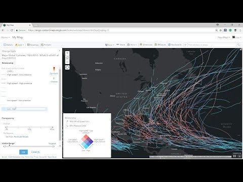 How to Build a Comparison Map with ArcGIS Online