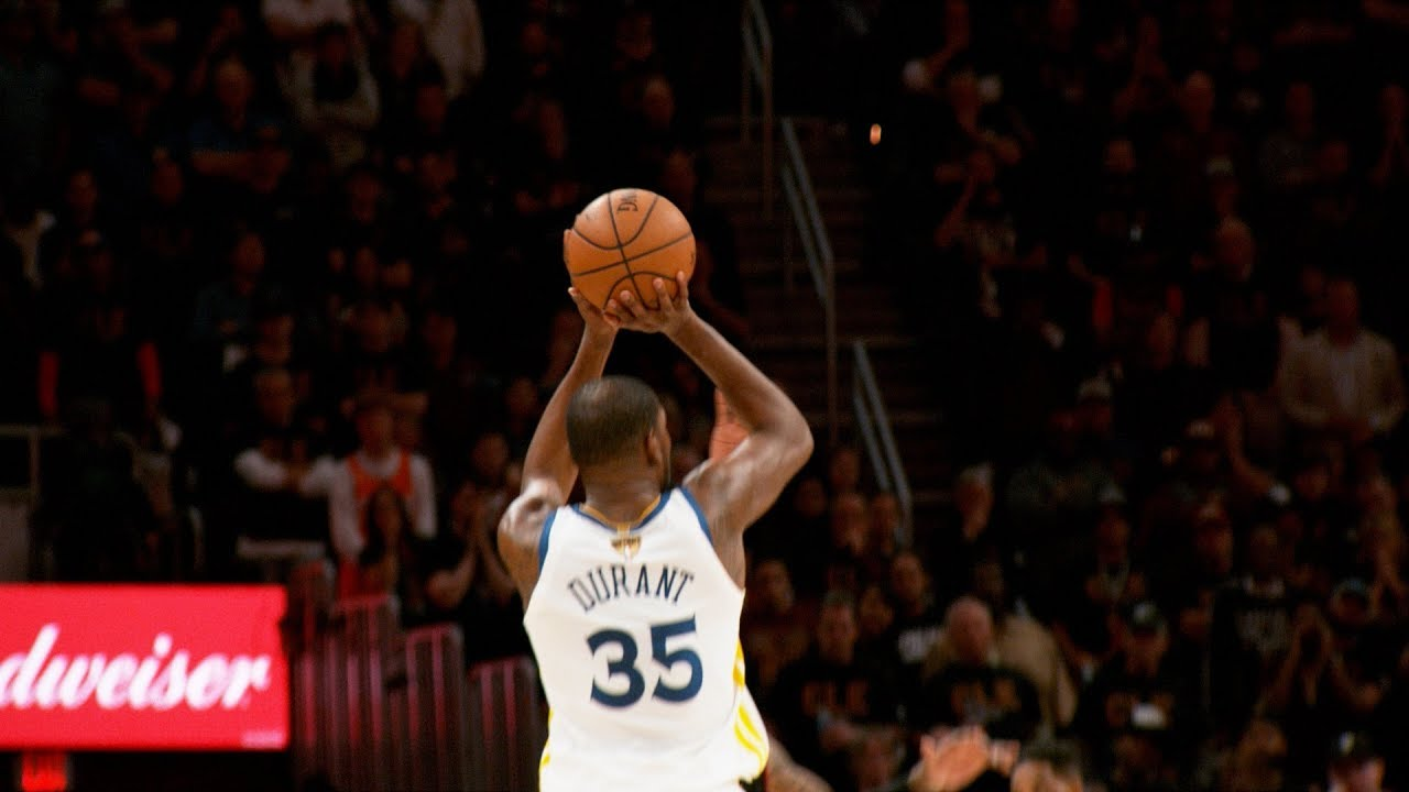 518d29c28314 Kevin Durant s CLUTCH 3-Pointer From All Angles! - YouTube