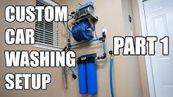 Custom Garage Pressure Washer Install | Part 1