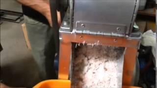 Rallador de Cocos Semi Industrial - TAREYMAG, S.A.
