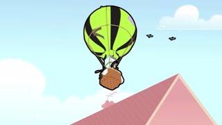 Hot Air Balloon   Mr. Bean Cartoon World