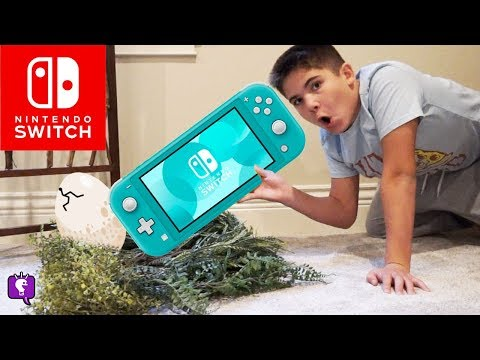 Nintendo Switch Lite with Monster in the Basement