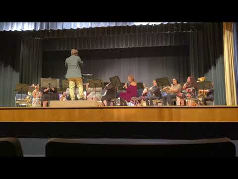 Cordell High School Band 2021 Spring concert