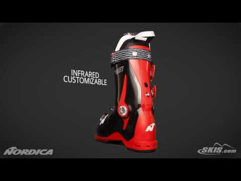 2018 Nordica Speedmachine 110 Mens Boot Overview by SkisDotCom