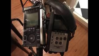 "Zoom H4n ""Handy Recorder"" vs Tascam DR-44WL"