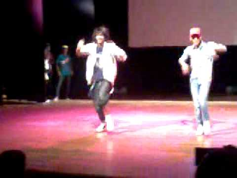 Rising stars of MJ Oneness Dance Group