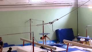 Vasilisa,  beam, 2 junior level. May 2015