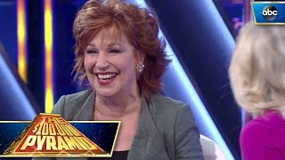 Joy Behar Rings It In The Last Second - $100,000 Pyramid