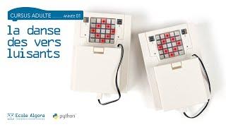 Coder un un robot luciole en Python - Cours 2 Algora pour adultes