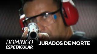 Domingo Espetacular mostra a rotina de dois promotores que estão jurados de morte no Brasil