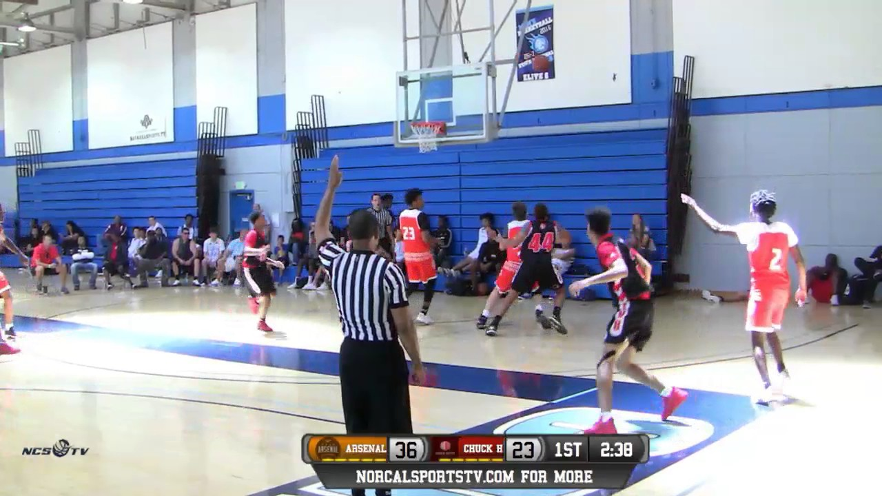 a4e0526d5 Chuck Hayes Basketball 17U vs Team Arsenal 17U Elite Game Highlights 5 7 17