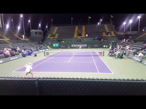Sofia Kenin vs Magda Linette - BNP Paribas Open Qualifying - 3/6/2017