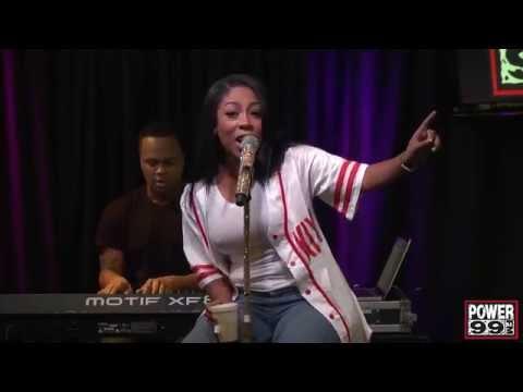 "K. Michelle - ""Love Em All"" (Live Power 99)"