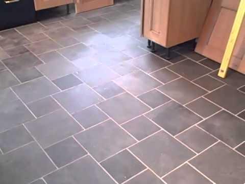Slate Flooring X And X Graphite Tiles YouTube - 20x20 slate tile