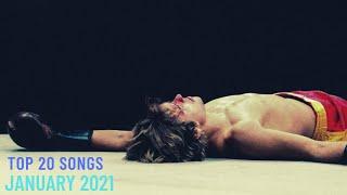 Top 20 Songs: January 2021 (01/16/2021) I Best Billboard Music Chart Hits