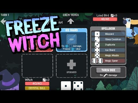 FREEZE WITCH | Dicey Dungeons Witch Attempt