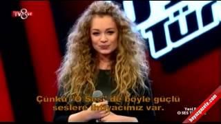 Яна Соломко 'Вербовая дощечка' на шоу Голос Турции