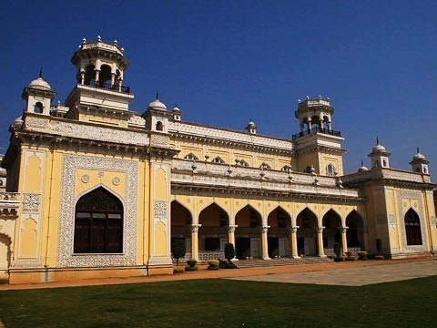 Chowmahalla Palace in Hyderabad