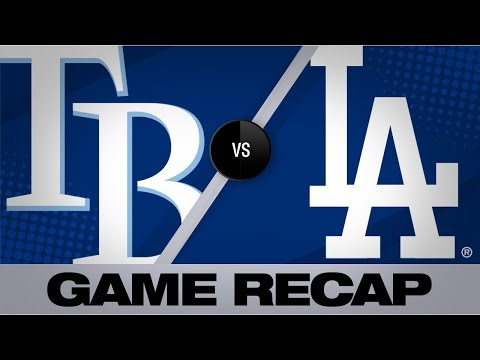 Meadows' HR in 11th propels Rays | Rays-Dodgers Game Highlights 9/18/19