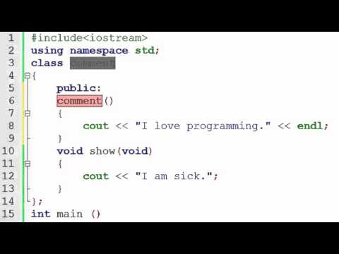 88  What is Constructor in C++ (Hindi) Back-End Programming