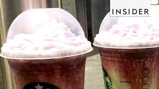 We Tried The Zombie Frappuccino From Starbucks
