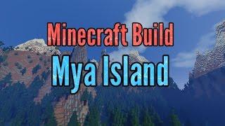 minecraft builds creations cool island mya houses neon