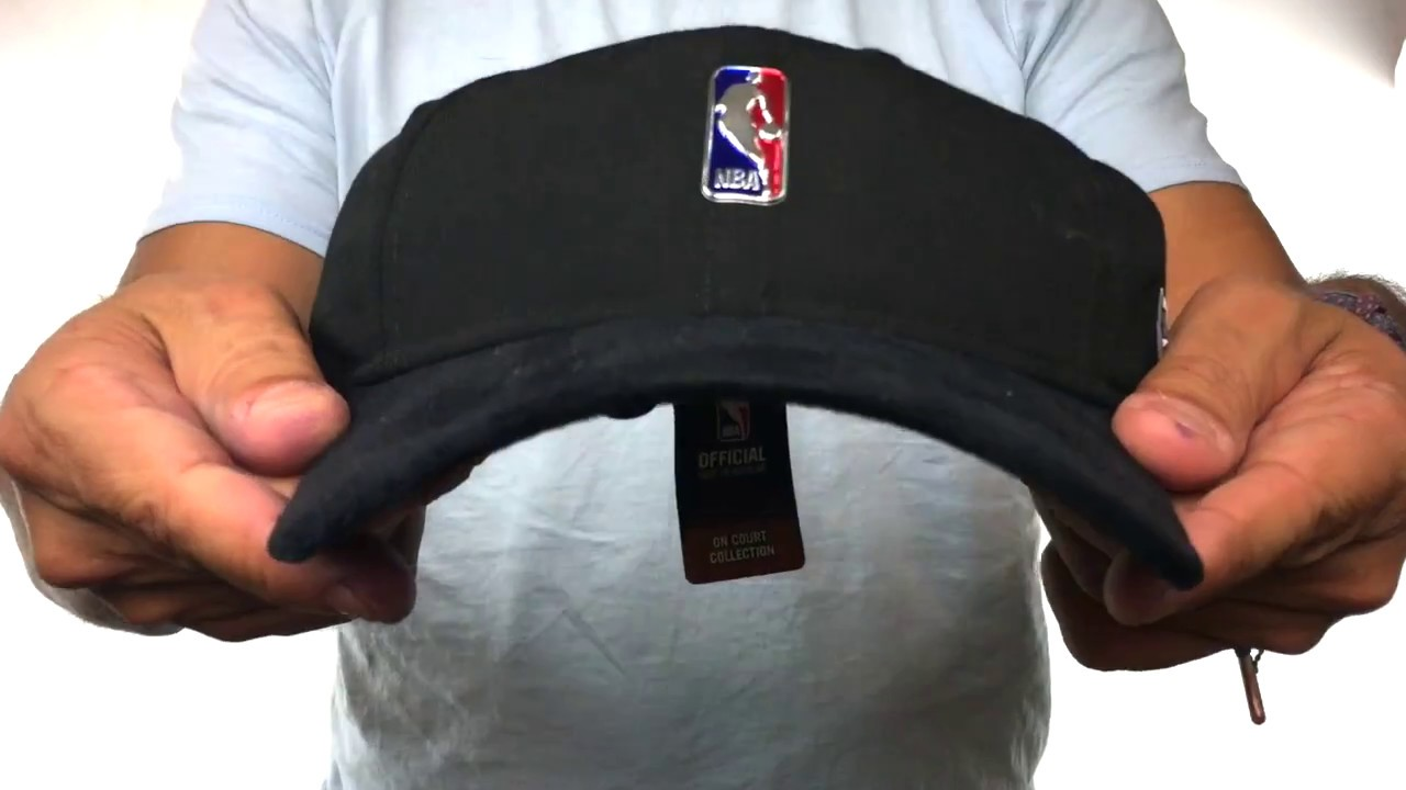 Logoman '2017 NBA ONCOURT DRAFT STRAPBACK' Black Hat By