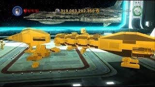 LEGO Star Wars III: The Clone Wars - 130 Gold Brick Reward (Stealth Ship) - 100% Complete