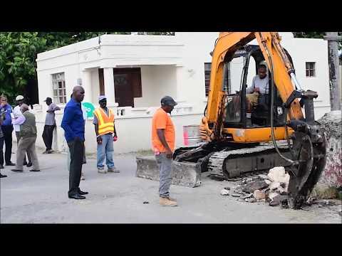Nation Update: Road repairs begin - Dauer: 49 Sekunden