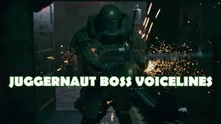 Call of Duty:Modern Warfare  - Juggernaut Boss Voicelines
