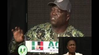 NEDG ANAMBRA GOVERNORSHIP ELECTIONS DEBATE SESSION:1