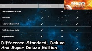Mass Effect 4 Andromeda - Difference Between Standard, Deluxe And Super Deluxe Edition