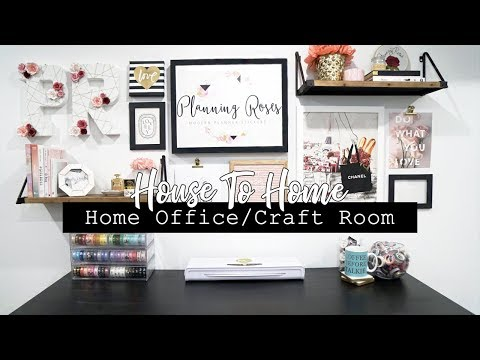 Home Office/Craft Room Makeover! || HOUSE TO HOME SERIES!