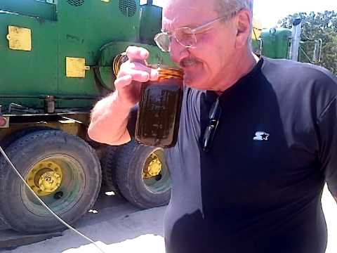 Land Lessor sampling oil from his land Slide 39
