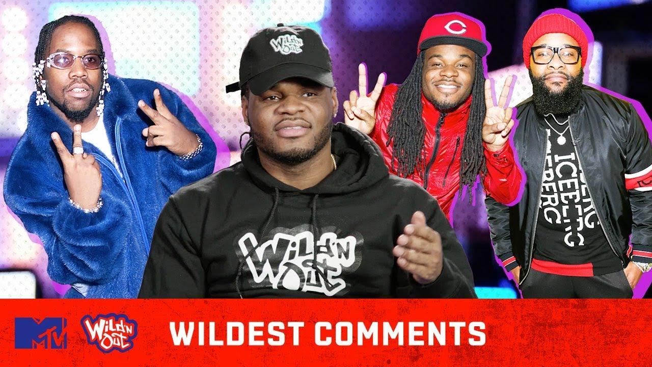 Emmanuel Hudson Breaks Down His 'Dime Joke' 😂| Wild 'N Out | #WildestComments