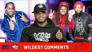 Emmanuel Hudson Breaks Down His 'Dime Joke' 😂| Wild 'N Out | #WildestComments