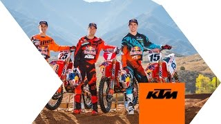 2016 Red Bull KTM Supercross Factory Racing Team Introduction  | KTM