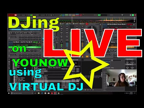 I'm LIVE on YouNow September 16, 2017 | Djing live using virtual DJ in YouNow | DJing live on YouNow