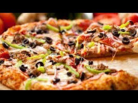 صورة  طريقة عمل البيتزا طريقة عمل البيتزا الايطالي بالفراخ بكل تكاتها 👌زي الجاهزة بالظبط طريقة عمل البيتزا بالفراخ من يوتيوب