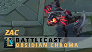 Battlecast Zac Obsidian Chroma - League Of Legends