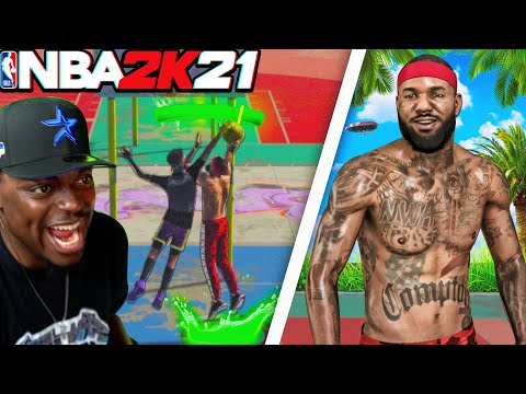 I Brought Rapper The Game Into The HACKER Infested NBA 2k21 & This Happen... |