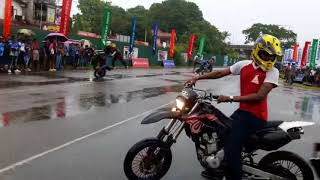 katunayaka bike stunt attack show..spin riders team event..