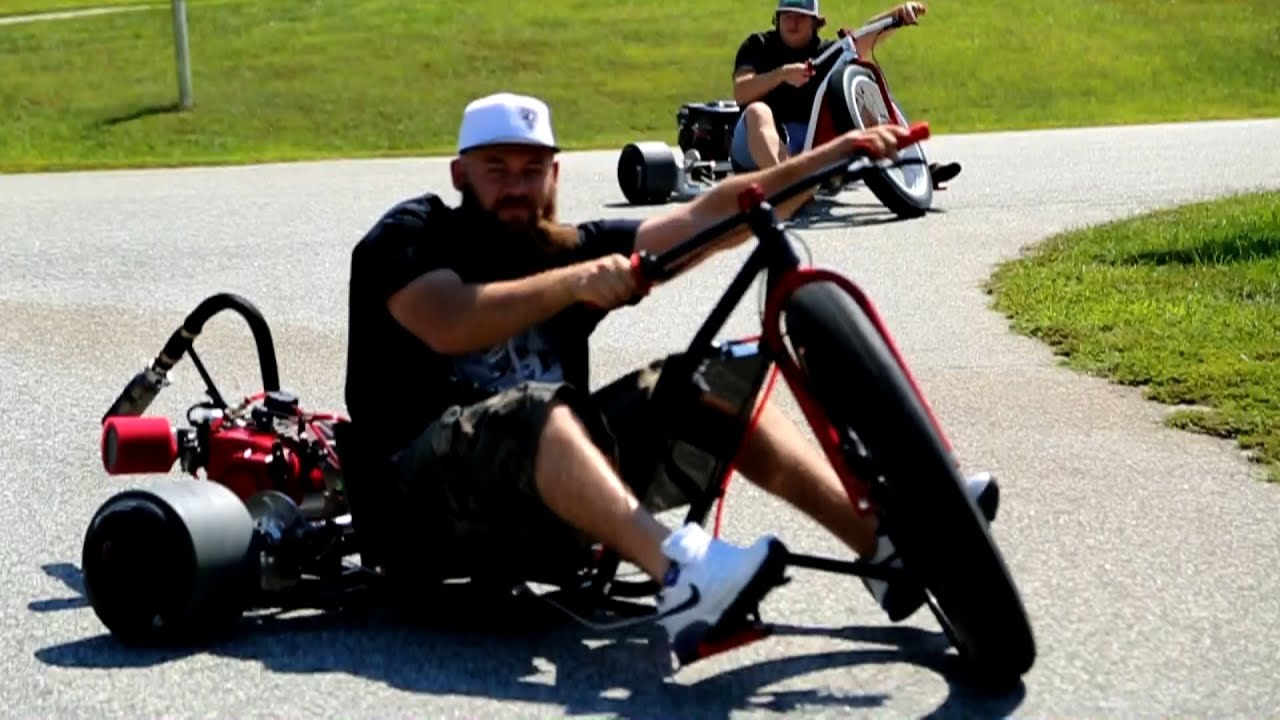 Motorized Drift Trike Sfd Industries Youtube