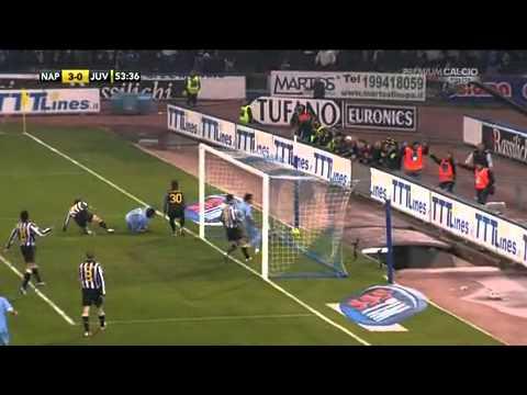 Napoli - Juventus Match CAVANI HAT TRICK